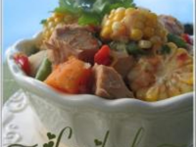 Ragoût de Poulet et de Légumes