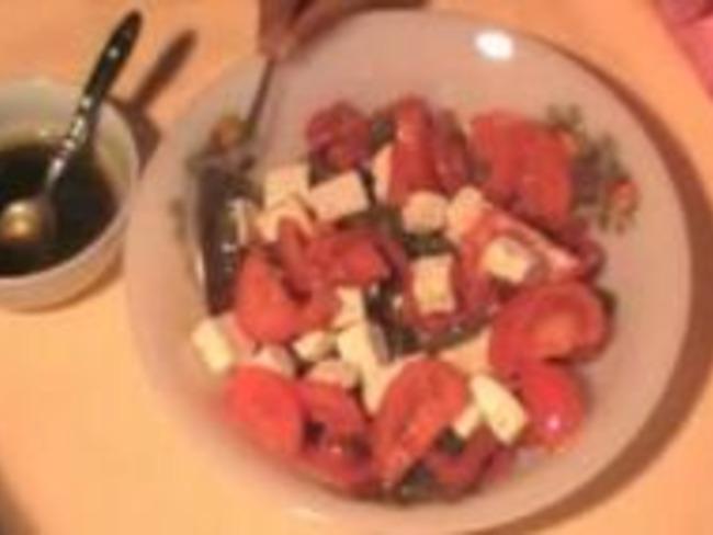 Salade Poivrons et Feta