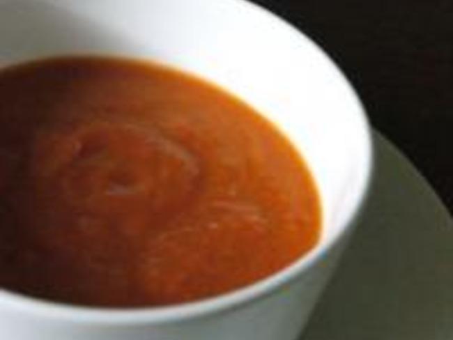 Soupe de Courge et Poivron