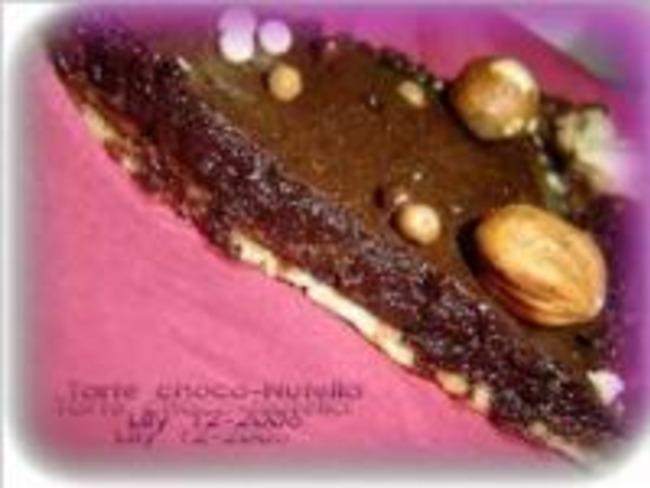 Tarte Choco-Nutella