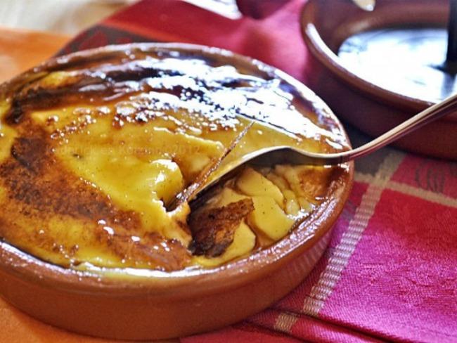 Crème catalane caramélisée au fer