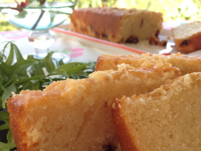 Le gâteau au fromage blanc et canneberges