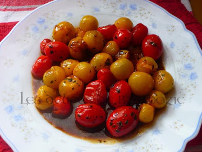 Tomates cerises à l'asiatique