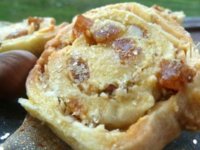 Escargots aux Fruits Secs et Oranges Confites