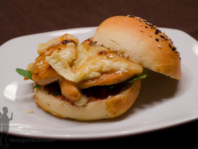 Burger parisien