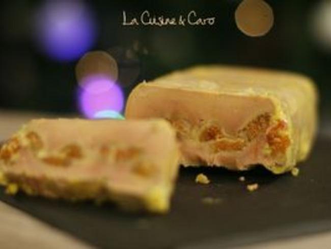 Foie gras aux figues séchées, parfumé au Cognac