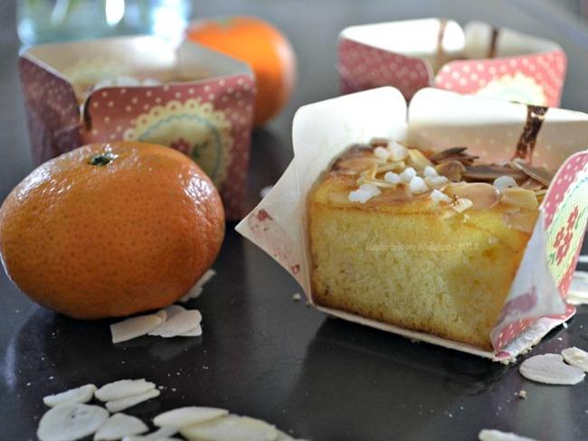 Mini cake aux clémentines