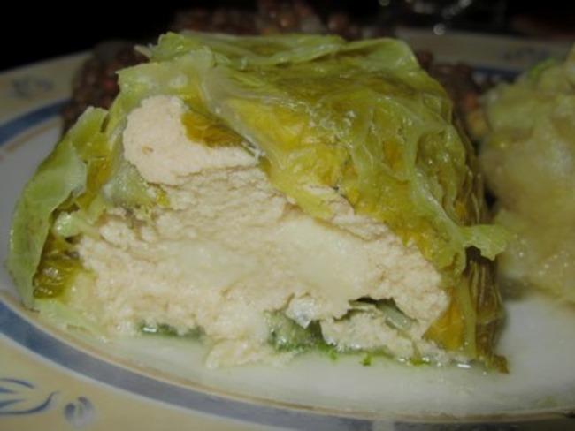 Petits choux farcis au poulet et au fromage