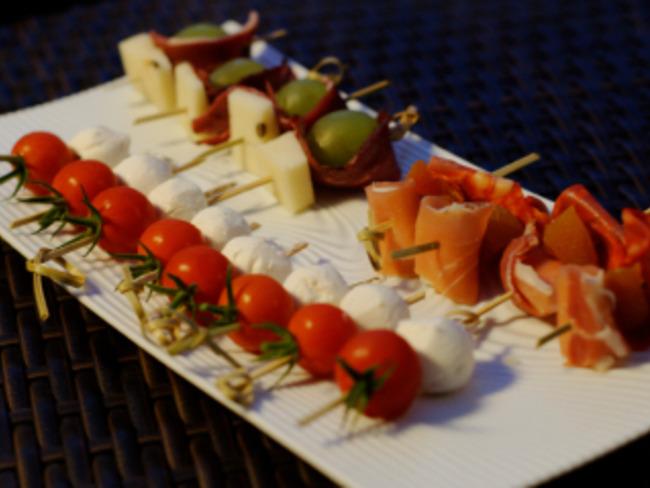 Minis Brochettes Aperitives Froides Recette Par Ma Cuisine Et Vous