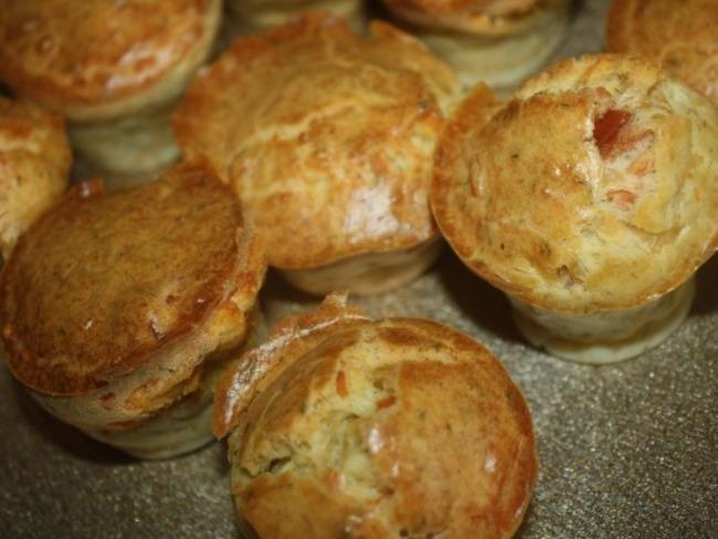 Muffins salés saumon et feta