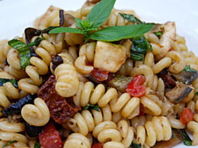 Salade de pâtes à l'italienne - Recette par La p'tite ...