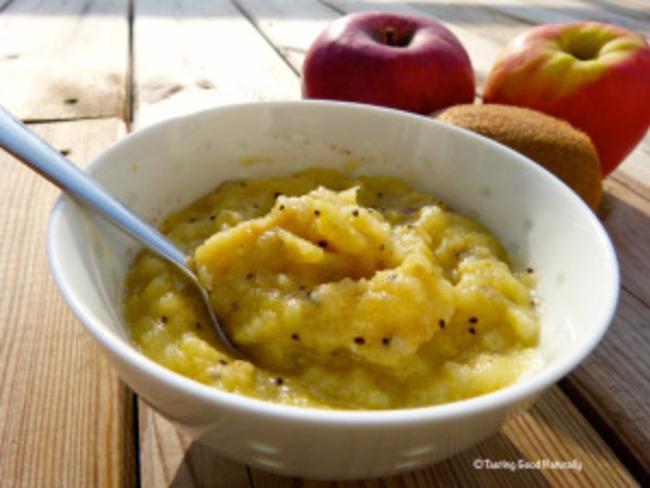 Compote pommes kiwi banane