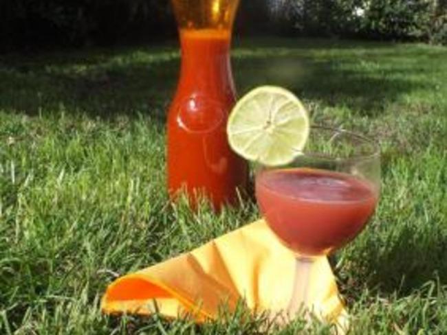 b37b8a872db Cocktail sans alcool fraise ananas - Recette par caro-en-cuisine