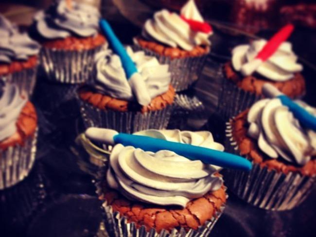 Cupcakes fondants au chocolat