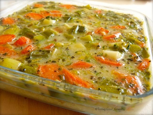 Millet aux légumes végétalien