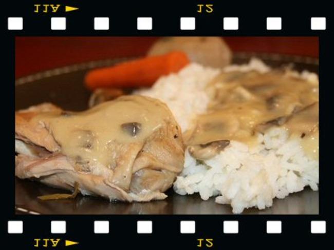 Poule au pot & sa sauce poulette