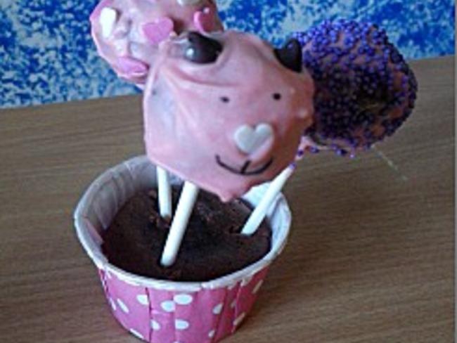 Cake pops au chocolat