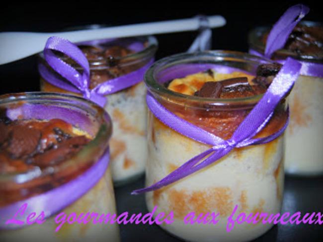 Crème diplomate aux madeleines