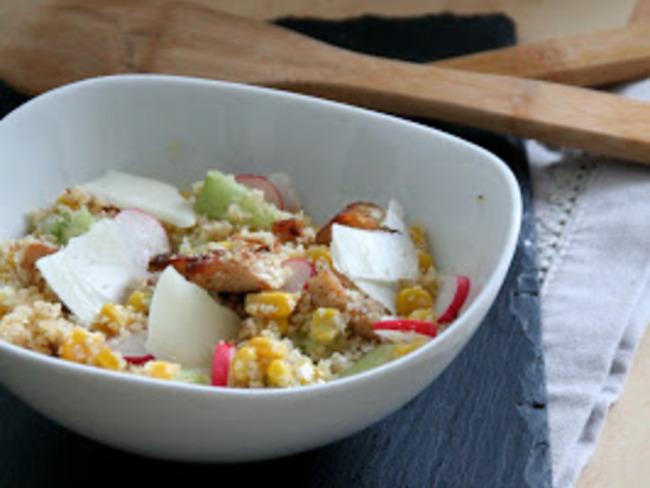 Salade de Boulgour et Poulet Tandoori