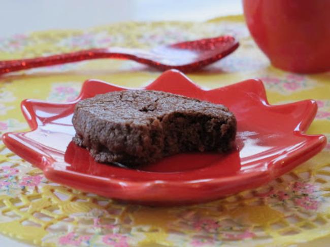 biscuit au chocolat et à la fleur de sel de Pierre Hermé