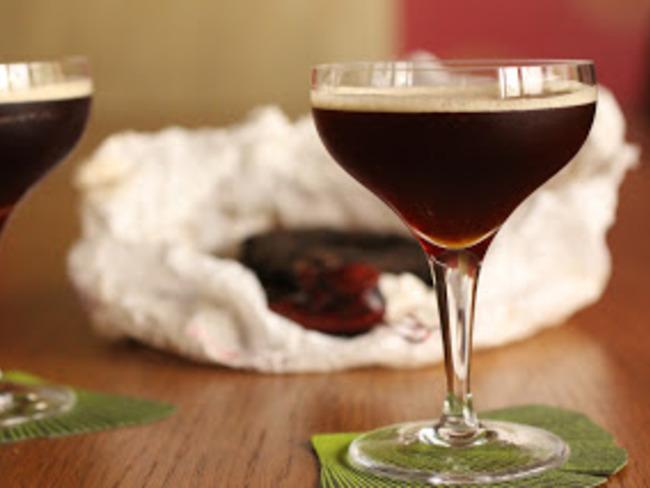 Cocktail au thé Pu-Erh et au cacao