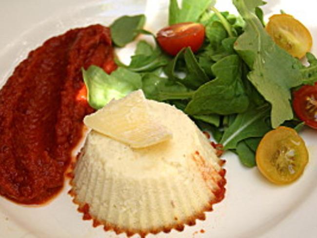 Petits Flans Au Parmesan Et Son Coulis De Tomates Recette Par La P Tite Cuisine De Pauline