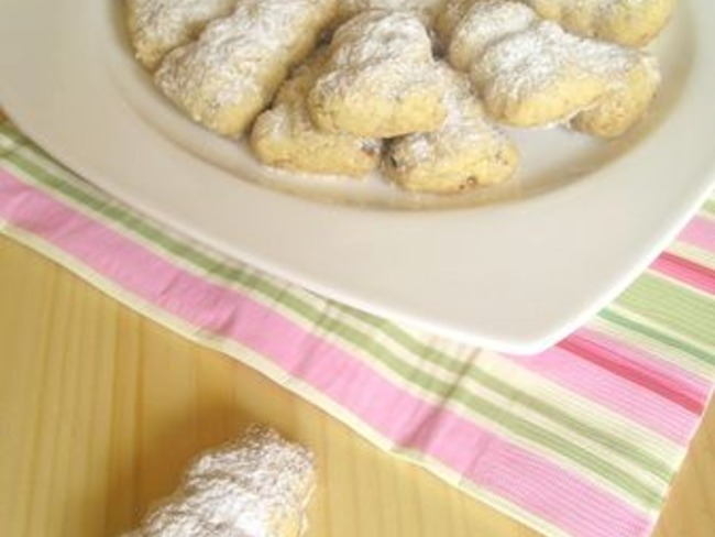 Biscuits lapin aux amandes