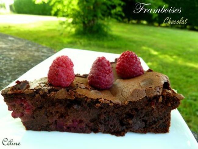 Fondant Chocolat Framboises