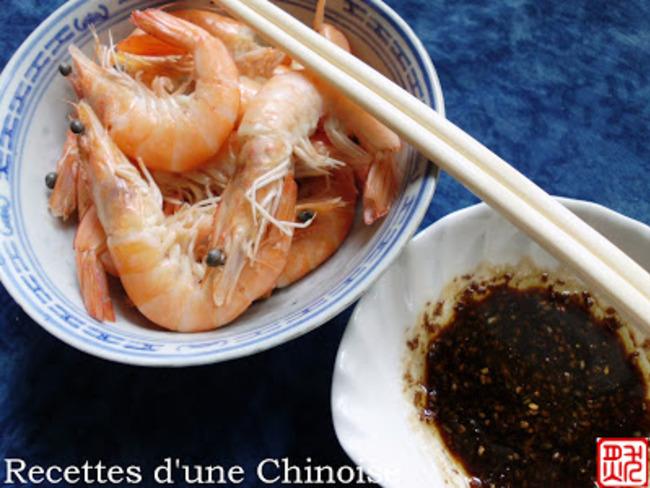Crevettes cuisson rapide de Canton