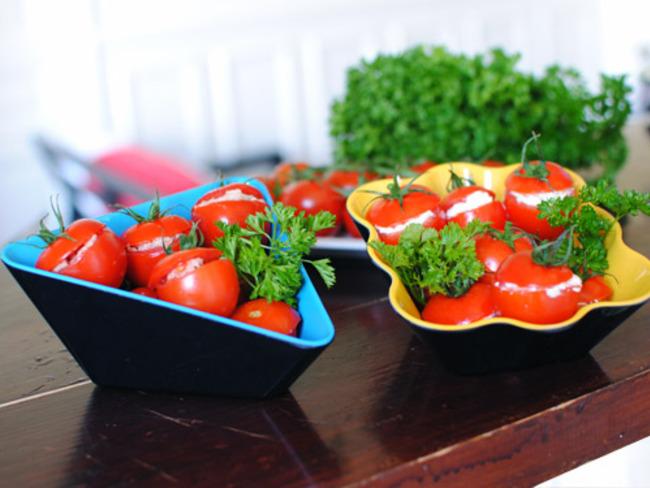 Tomates farcies pour l'apéritif