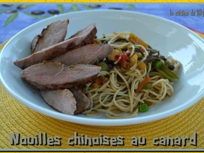 Nouilles chinoises au canard