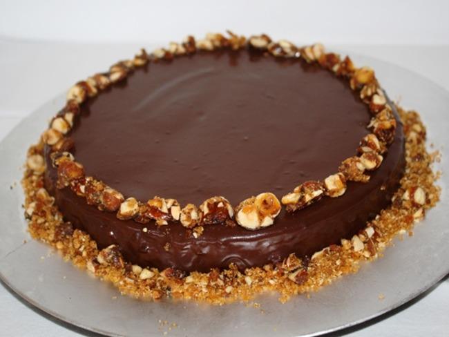 Cheesecake feuilleté praliné