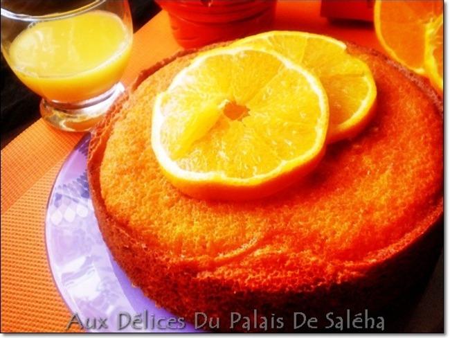 Gâteau Moelleux à L' Orange