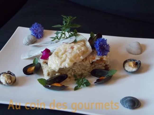 Filet de turbot sauce au beurre-blanc