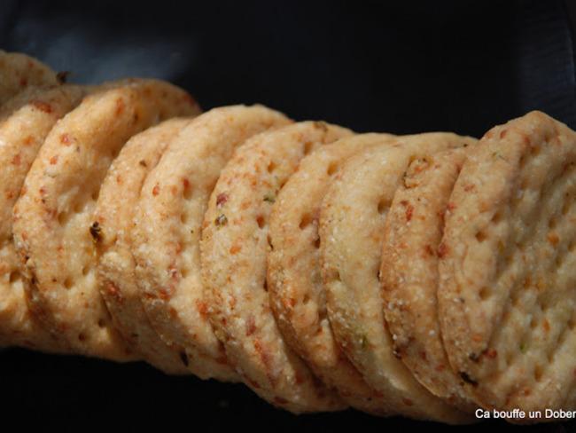 Crackers aux Jalapenos