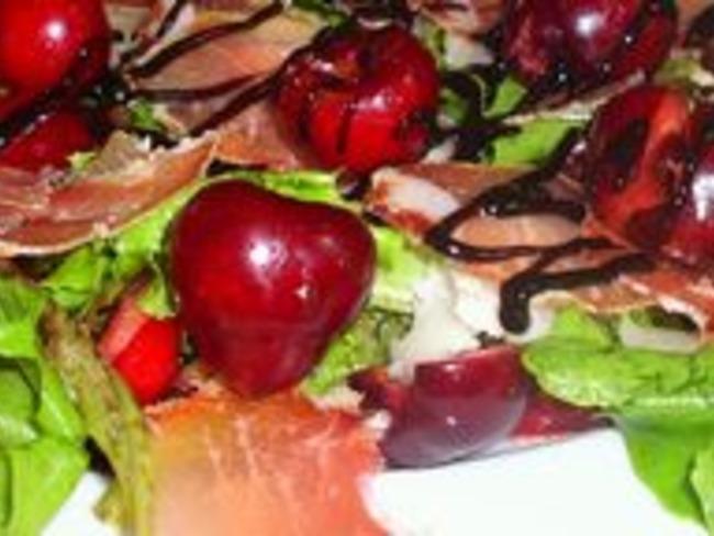 Salade cherry-cheese