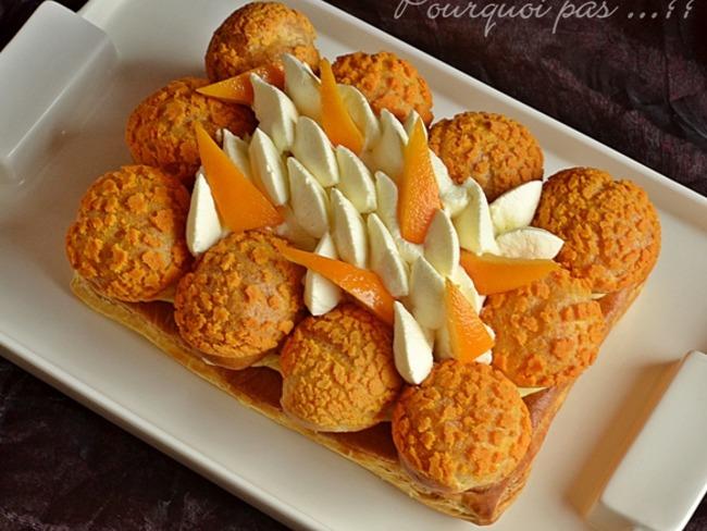 Saint-Honoré à la fleur d'oranger