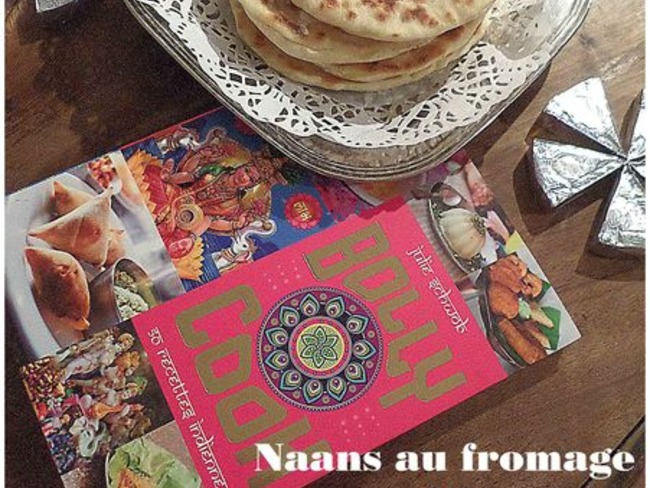 Naans au fromage ou cheese naans