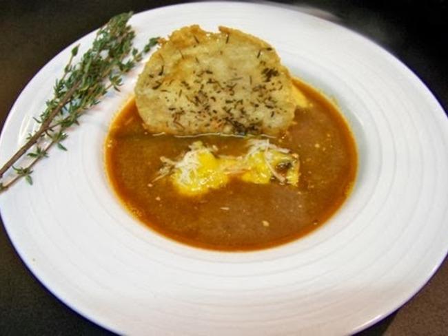 Soupe de poissons de roche, soupa de pei de Nissa