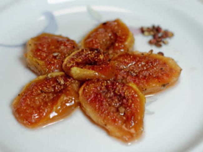 Figues rôties au poivre de Sichuan