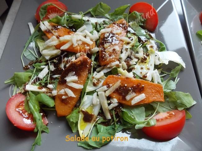 salade au potiron