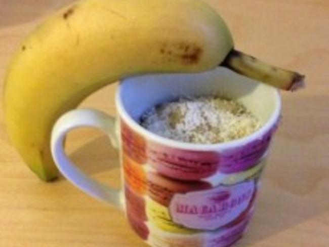 Mug Cake banane coco