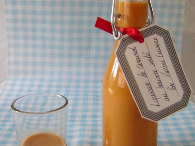 La liqueur de caramel au beurre salé