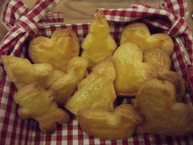 Petits gâteaux au beurre ou Butterbredele