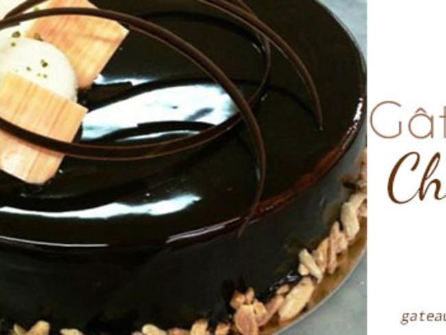 Glaçage au chocolat brillant