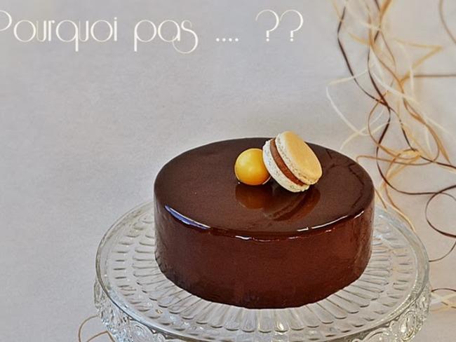 Gâteau Chocolat noir Spéculoos