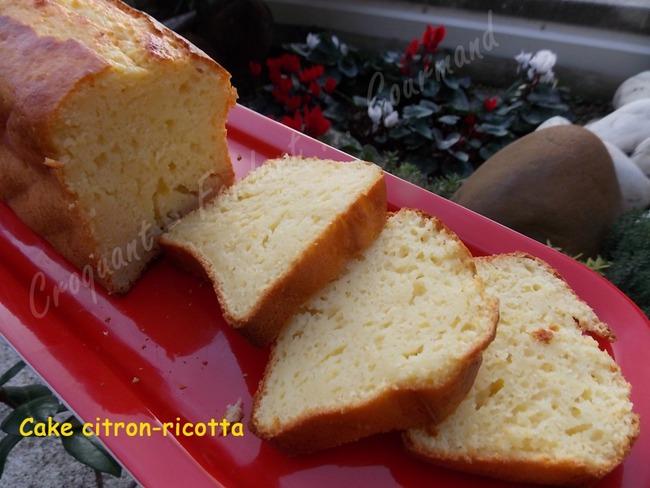 Cake citron-ricotta