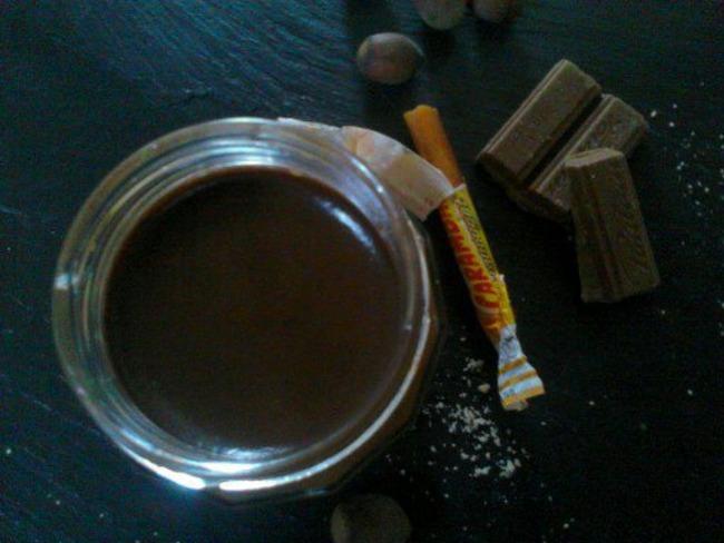 Pâte à tartiner maison au Carambar®