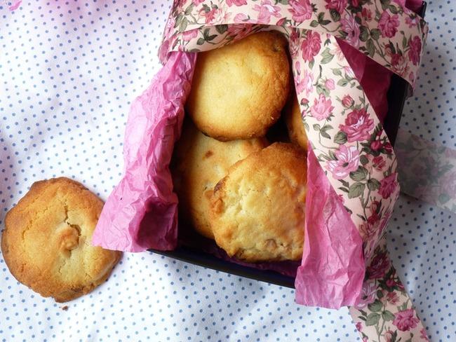 Cookies macadamia chocolat blanc