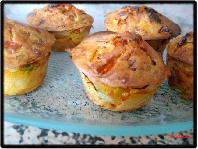Muffins aux légumes du Soleil